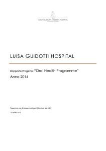 Report 2014Oral Health