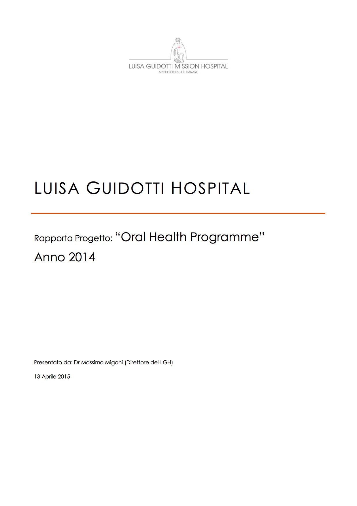 Report 2014Oral Health