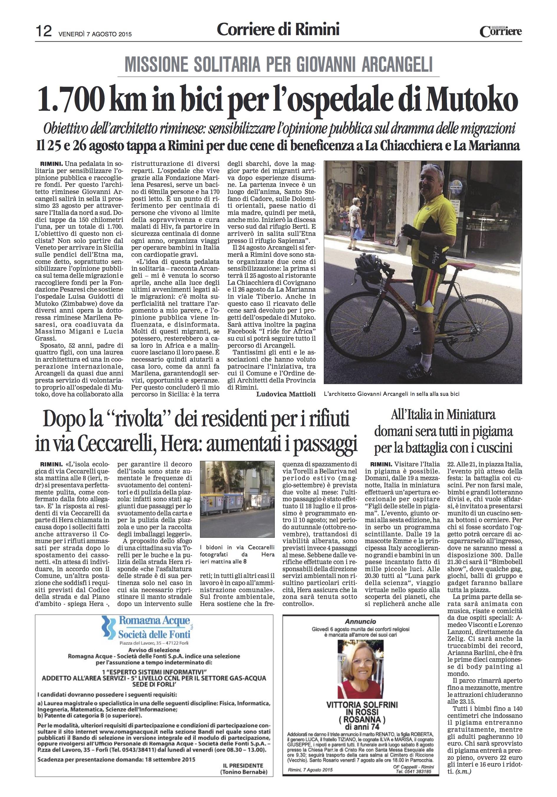 Iride4Africa-Corriere-20150807