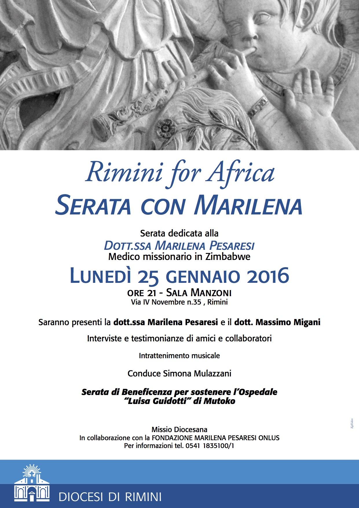 Rimini for Africa 2016
